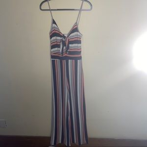 Anthropologie Caution to the Wind Cotton Jumpsuit